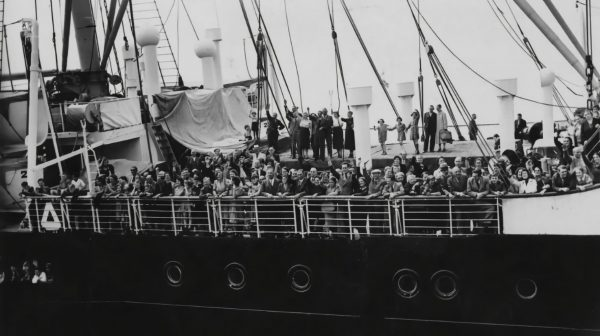 After failing to find refuge in Cuba, the U.S. or Canada, the 900 Jews aboard the St. Louis returned to Europe where one third of them were murdered in the Holocaust.