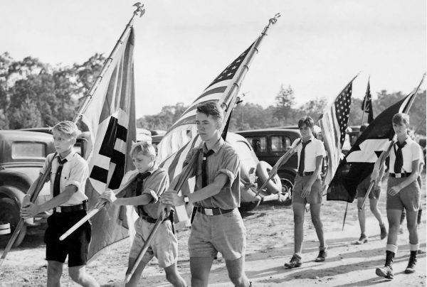 Camp Siegfried, on Long Island, NY, was among the pro-Nazi summer camps affiliated with the German-American Bund.