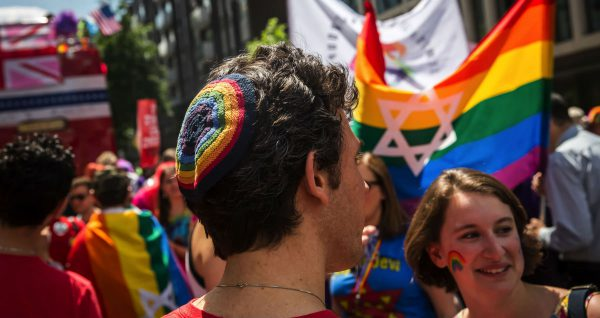 The Chicago Pride Parade faced controversy in 2017 when it banned participants from carrying flags displaying the Star of David.